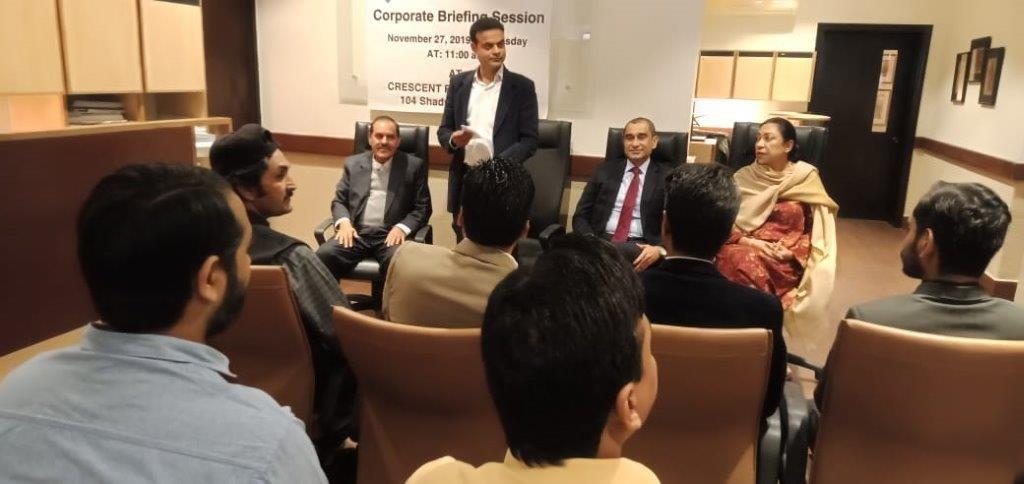 Corporate Briefing Session